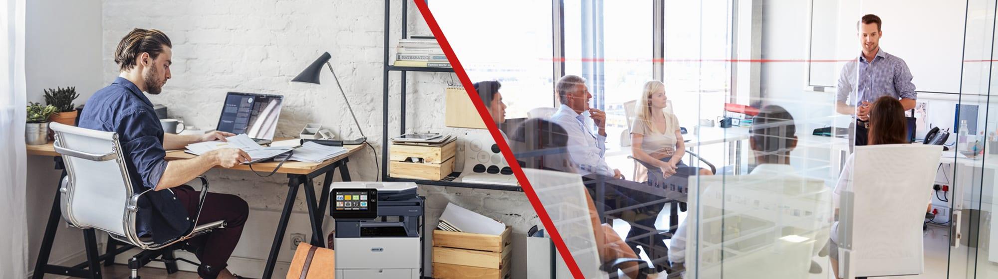 Xerox führend im Bereich hybride Arbeitsmodelle
